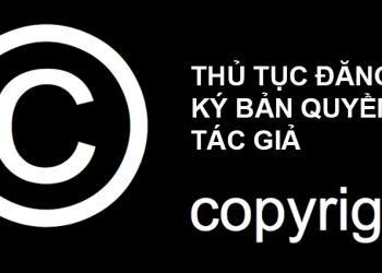Quy trình đăng ký Quyền tác giả